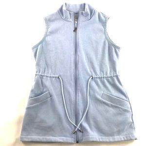 Ugg Antonia Knit Lounge Vest Size Large Blue
